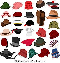 הרבה, כובעים, קבע, 04