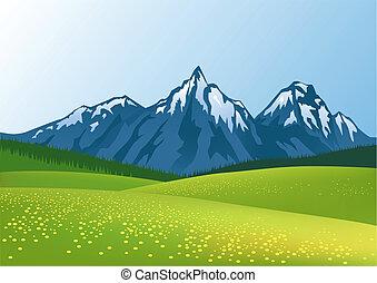 הר, רקע