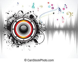 השמע, תקציר, מוסיקלי, רקע