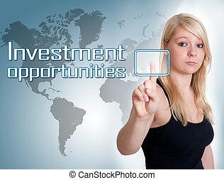 השקעה, הזדמנויות