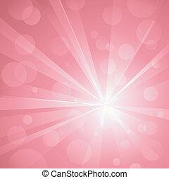 השתמש, נקודות, התפוצצות, ליניארי, pink., אין כל, גוונים, תקציר, גלובלי, רקע, אור, להכות, קבץ, colors., transparencies., ראדיאלי, יצירה אמנותית, מבריק, layered., gradients