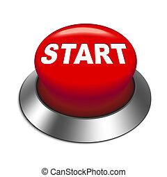 התחיל כפתור, דוגמה, 3d