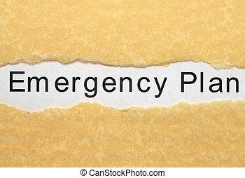התכנן, חירום