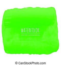 וואטארכולור, ירוק, טקסטורה, רקע