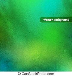 וואטארכולור, ירוק, texture.