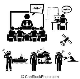 וידאו, עסק, ויעוד