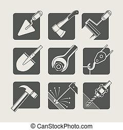 וקטור, בניה קובעת, tools., איקונים