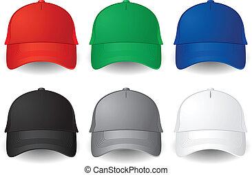 וקטור, כובעים של בייסבול