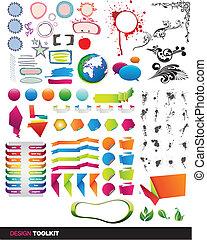 וקטור, כלים, יסודות, designer's