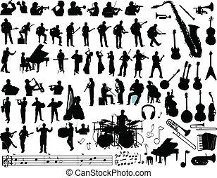 וקטור, מוסיקה