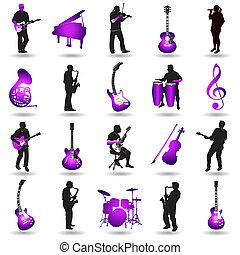 וקטור, מוסיקה, יסודות