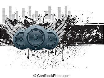 וקטור, מוסיקה, רקע