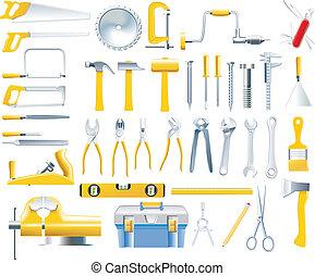 וקטור, עבודויות עץ, קבע, כלים, איקון