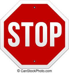 וקטור, עצור סימן