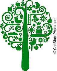 וקטור, פרוח, עץ, איקונים של בעל החיים