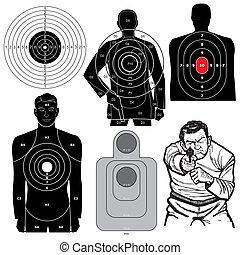 וקטור, קבע, לירות במטרות, 6