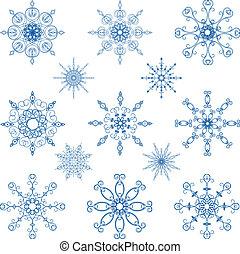 וקטור, קבע, פתיתת שלג