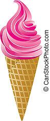 וקטור, קונוס, גלידה