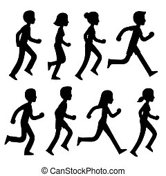 וקטור, רצים של מרתון