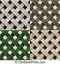 וקטור, תבנית של מארג, seamless, נייר, רקע