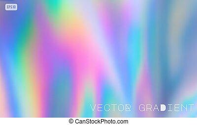 וקטור, holographic, רקע של פסטל, צבע