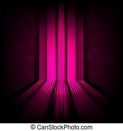 ורוד, אור, תקציר, קוים, רקע