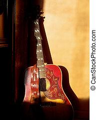 זה, גיטרה, ישן