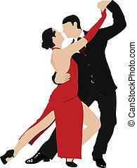 זוגות, טנגו, לרקוד