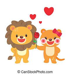 זוג, אריה, דוגמה