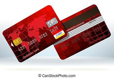 זכה, הכנסה לכל מניה, back., כרטיסים, חזית, 8, אדום