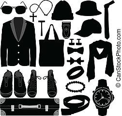 זכר, אביזרים של בגדים, איש, לבש