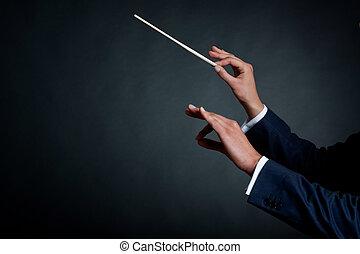 זכר, מוביל, תזמורת