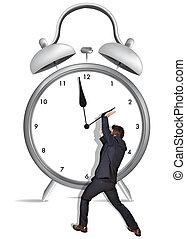 זמן, החזק