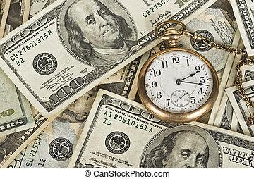 זמן, כסף, הערך