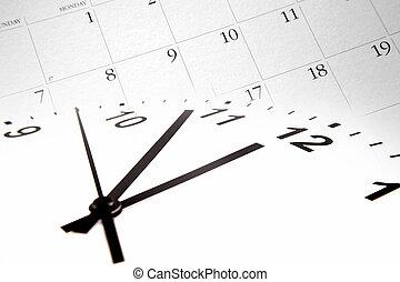 זמן, לוח שנה