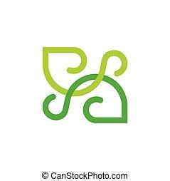 חבר, לוגו, קו, קשות, עיצוב מופשט, ענוב
