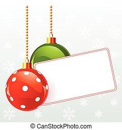חג המולד, כנה, טופס, decorat