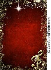 חג המולד, רקע, מוסיקלי, copyspace.