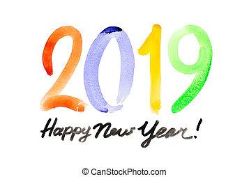 חדש, שמח, שנה, 2019