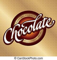 חומרי אריזה, עצב, (vector), שוקולד