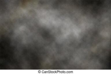 חושך, עשן, רקע