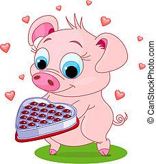 חזיר, אהוב