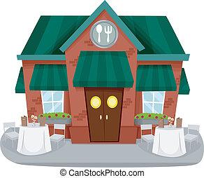 חזית, מסעדה