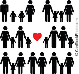 חיים, שחור, קבע, איקון, משפחה