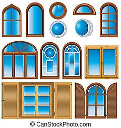 חלונות, אוסף