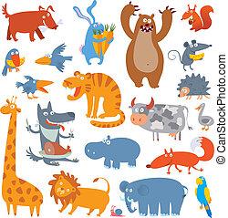 חמוד, בעלי חיים, גן חיות