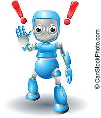 חמוד, הזהר, רובוט, אופי