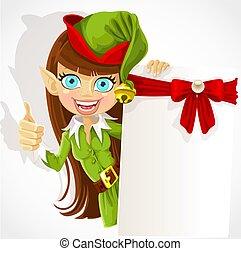 חמוד, ילדה, שדון, חג המולד