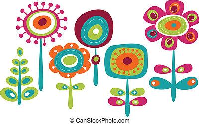 חמוד, פרחים, צבעוני