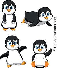 חמוד, ציור היתולי, פנגווין